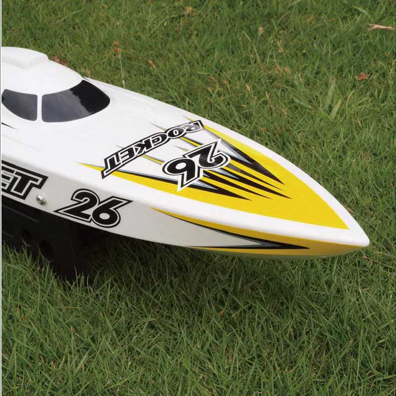 Front Side of High Speed ARTR Brushless Speed Boat Rocket 8651