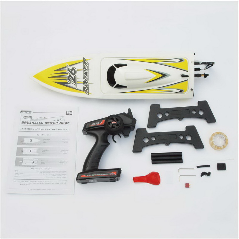 Packages of High Speed ARTR Brushless Speed Boat Rocket 8651