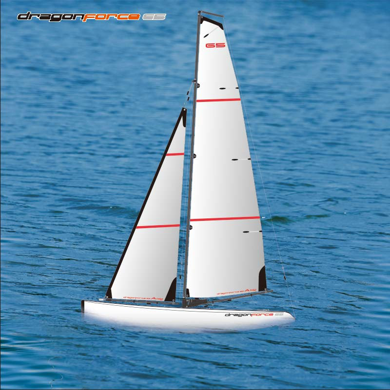 Big Fast Racing RC Sailing boat for Adults Joysway DragonForce65 8815