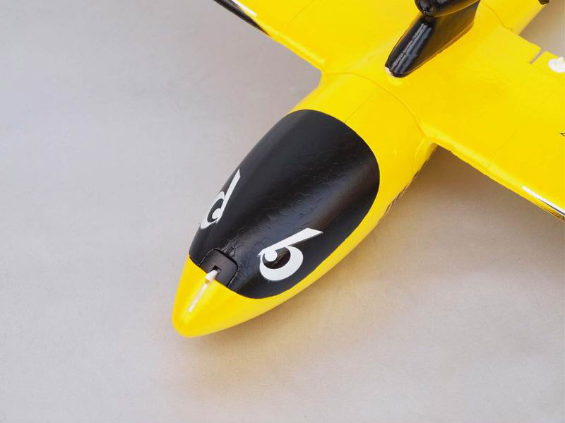 Front Side of Mirco Mini Remote Control Glider Plane Kit Smart-K 6106
