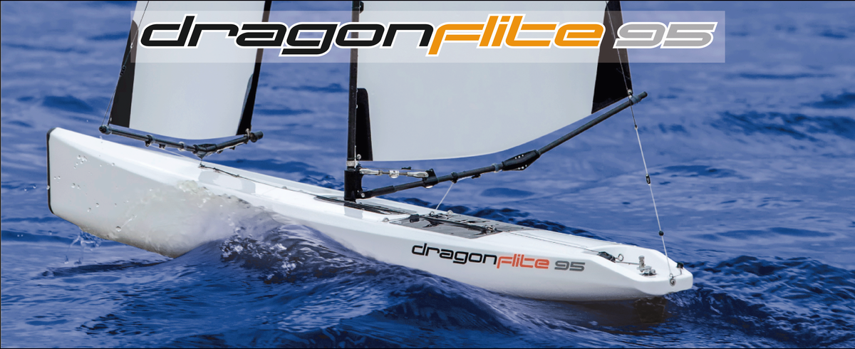 RC Sailboat Dragon Flite 95