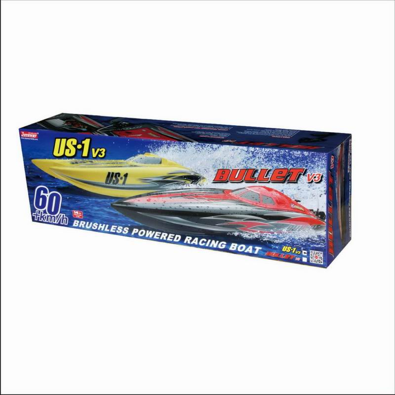 Color Box of Good Brushless Power Catamaran Speed Boat US1 8302