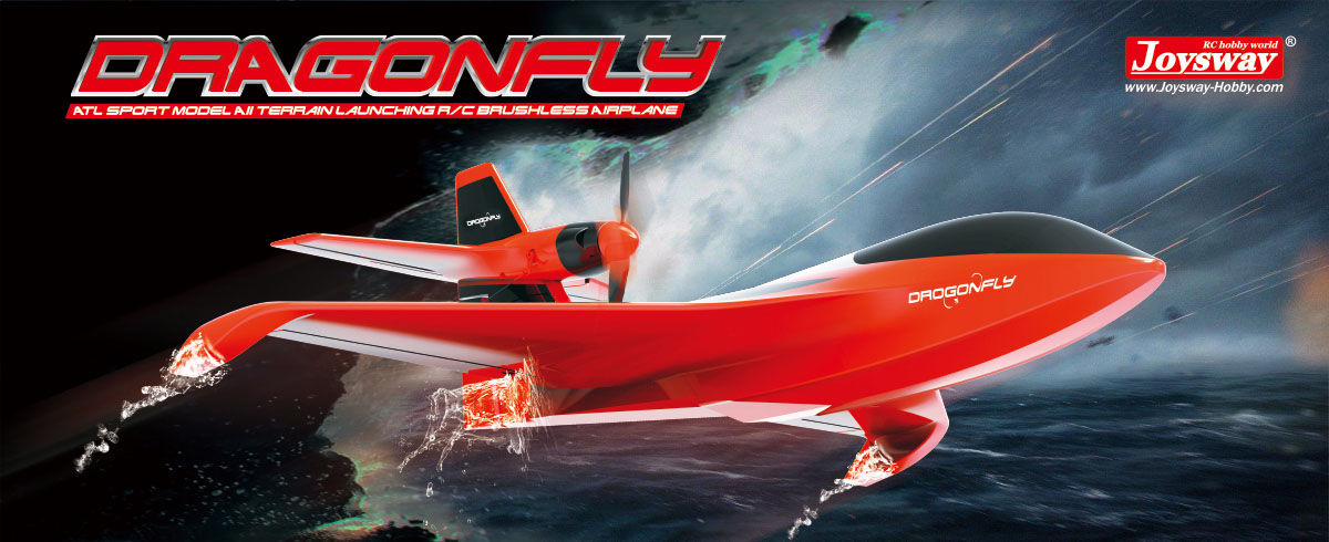 Radio Controlled Airplane Dragonfly  6302