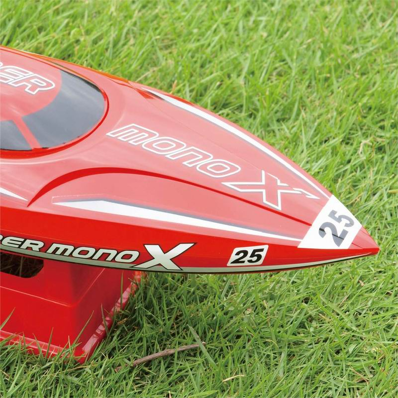 Front Side of ARTR Brushless Fast Power Speed Boat for Sale Super mono X 8209