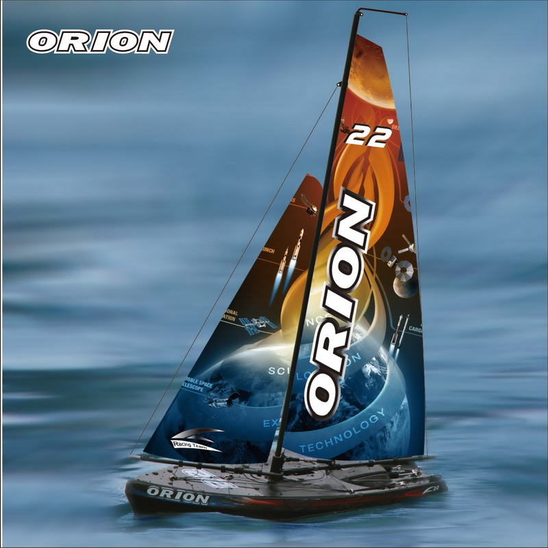 Small Battery Operated RC Sailing Ship for Children Joysway ORION 8803