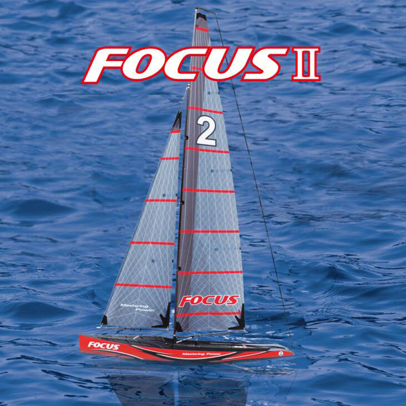 Gaint RTR Good Racing Radio Control Sailing Yacht for Adults - Joysway Focus2