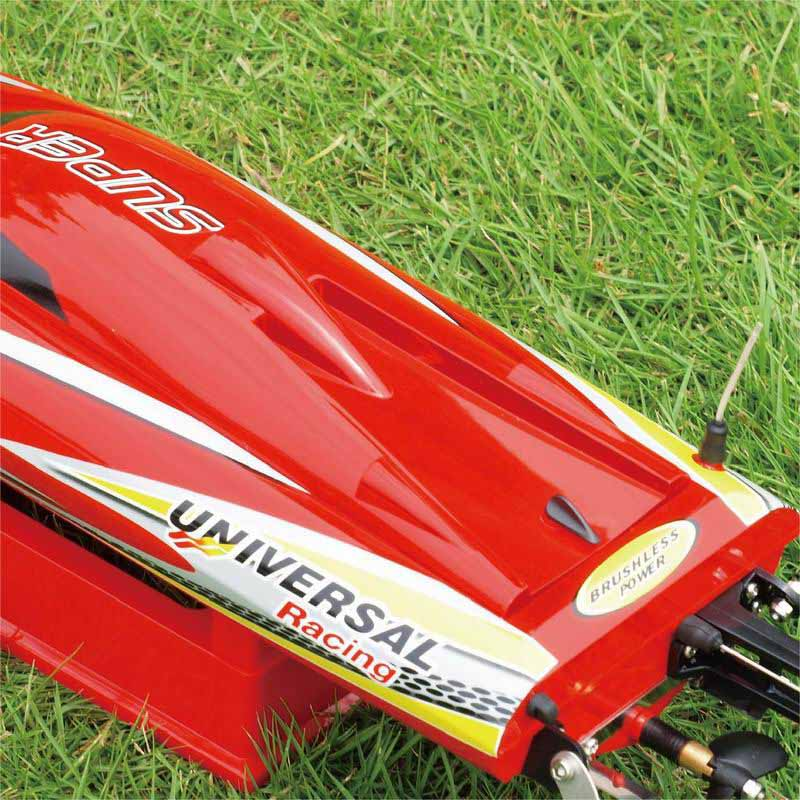 Back Side of ARTR Brushless Fast Power Speed Boat for Sale Super mono X 8209