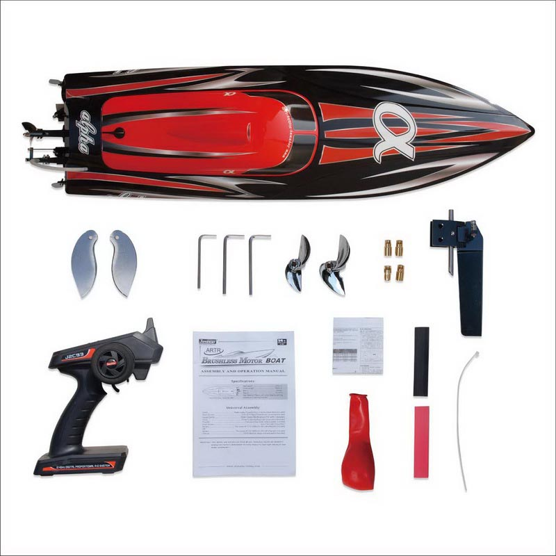 Packages of Super Fast Biggest Brushless Speed Boat for Adults alpha 8901R