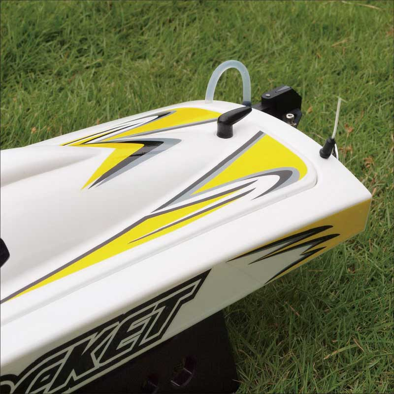 Body of High Speed ARTR Brushless Speed Boat Rocket 8651