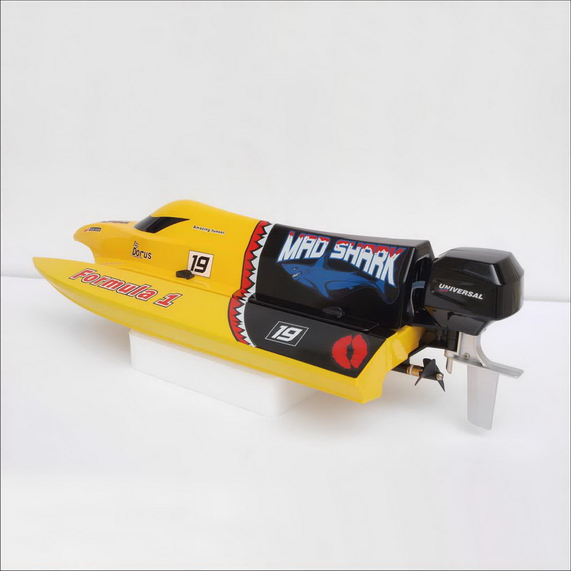 Brush Mini F1 Power Speed Boat Mad Shark 8203