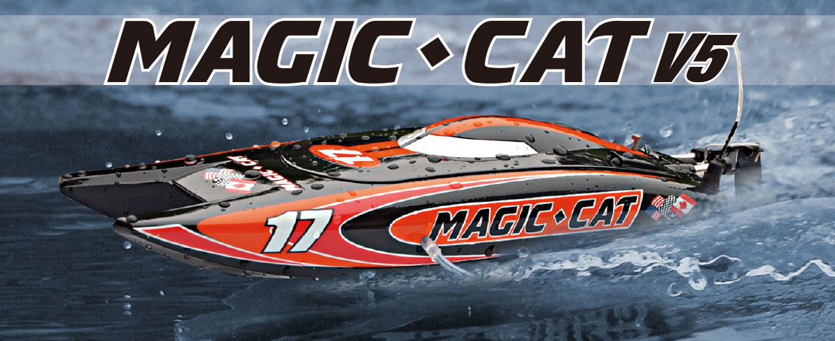RC Speed Boat Joysway Magic Cat 8108