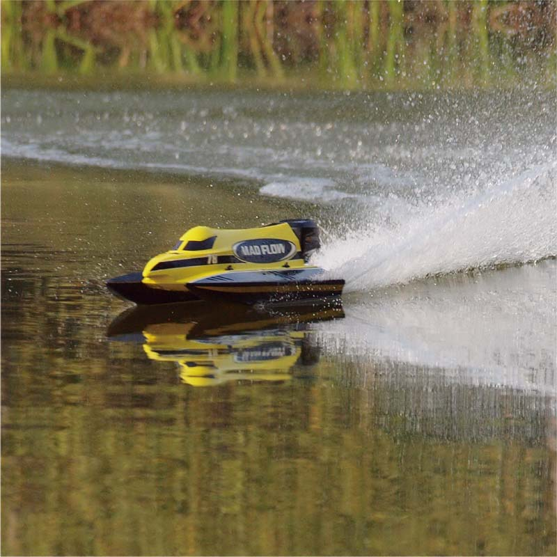 New ARTR Brushless F1 Power Speed Boat Mad Flow 8653