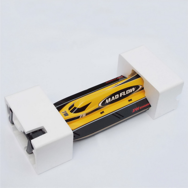 Inner Packing of New ARTR Brushless F1 Power Speed Boat Mad Flow 8653