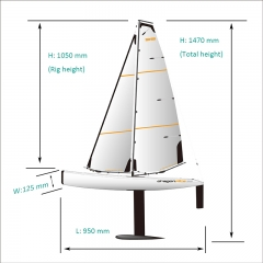 Dragon Flite 95 Racing Sailboat