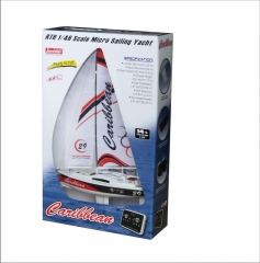 Micro Toy RC Sailing Yacht kit for Kids Caribbean